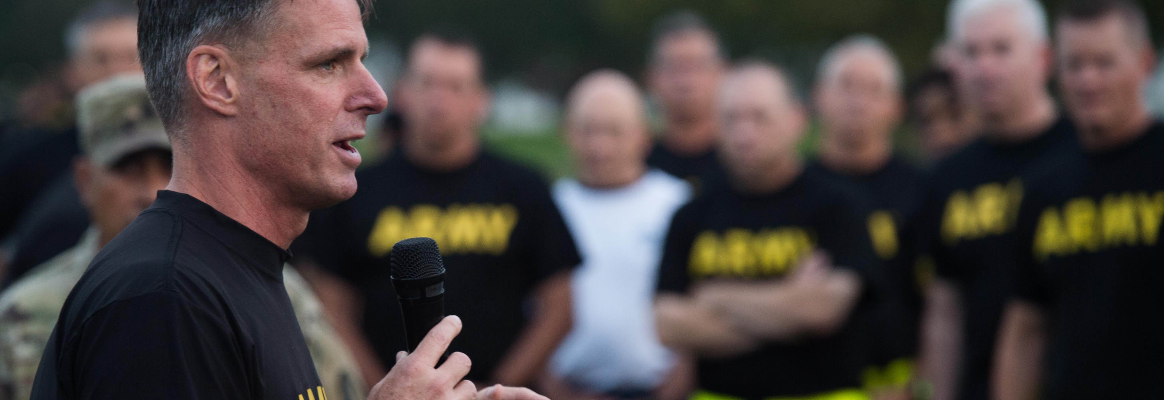 TRADOC senior leaders among first to take new Army Combat Fitness Test